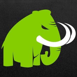 böses mammut - angry mammoth - Kontrast-Rucksack