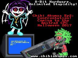 the Chibi Akumas taking over the CPC! I drew this little pic to try to help promote the new game! #chibiakumas #chibi #akuma #retrogames #retrogaming #gothic #amstradcpc #8bit #チビ悪魔 #ちび悪魔