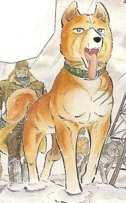 Riki in original GNG manga stule