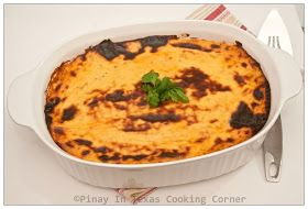Pinay In Texas Cooking Corner: Three Cheese Filipino Style Baked Macaroni