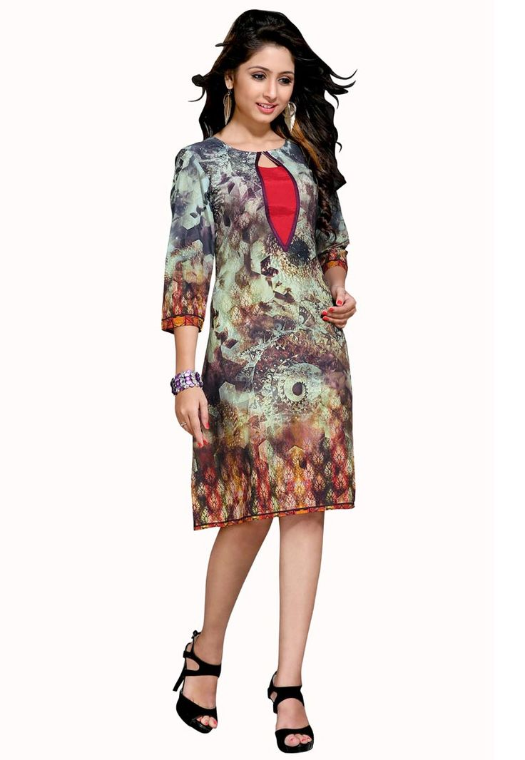 #Beige And #Brown #Cotton #Kurti.  #Beige And #Brown #Cotton #Printed #Work #Kurti.  INR: 770.00  With Exclusive Discount  Grab: http://tinyurl.com/gopjesv