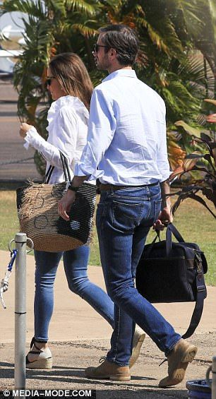 Pippa Middleton continues Australian honeymoon in Darwin | Daily Mail Online