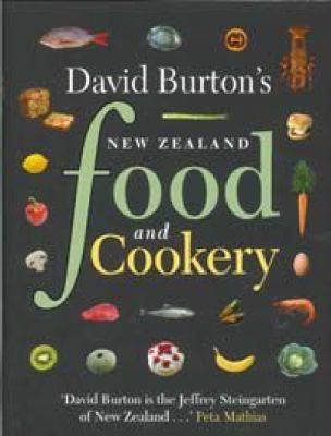 See David Burton's New Zealand food and cookery in the library catalogue.