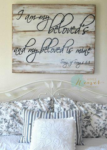 """Beloved"" Wood Sign {customizable} - Aimee Weaver Designs"