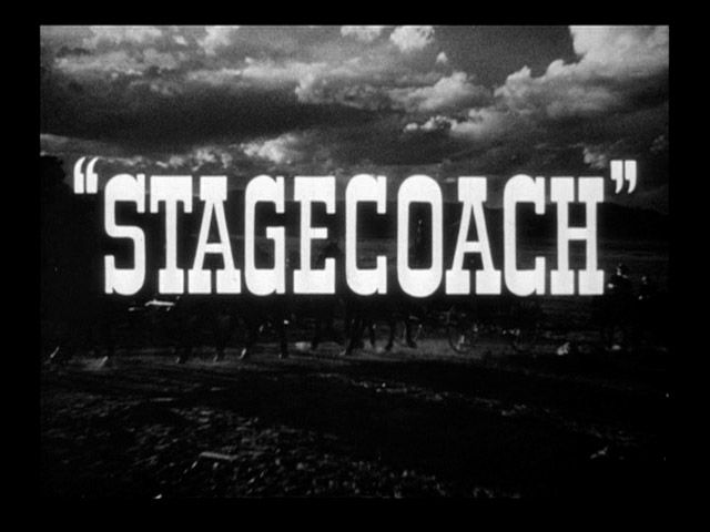John Ford, Stagecoach (1939). This film singlehandedly transformed the Western from a cheap sensationalist B genre film into a legitimate A film.  Be sure to check out the famous stunt work of Yakima Canut during the Indian attack.