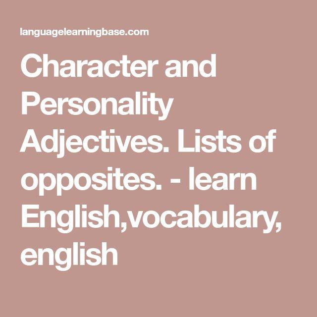 Berlitz learn english adjective