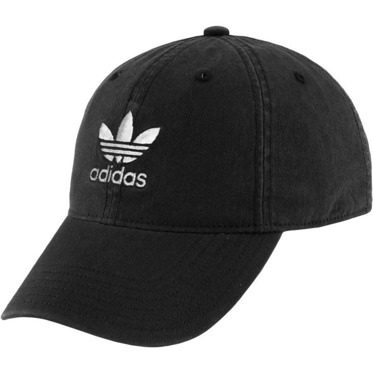 adidas Originals Women's Relaxed Strapback Cap, Black