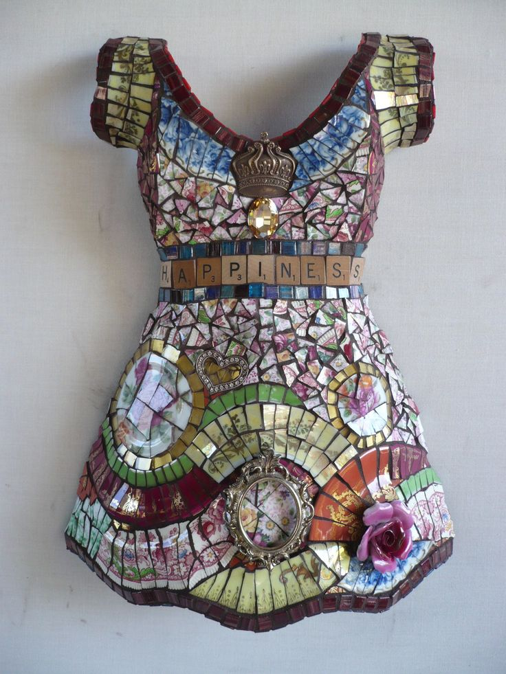 Mosaic Dress Form