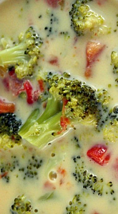 Weight Watchers Broccoli Cheese Soup - 2 Pts Per Cup ❊