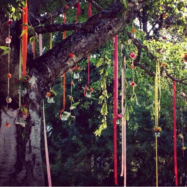 Beargrass Gardens Floral & Events, Whitefish, Montana.  Backyard Summer Wedding
