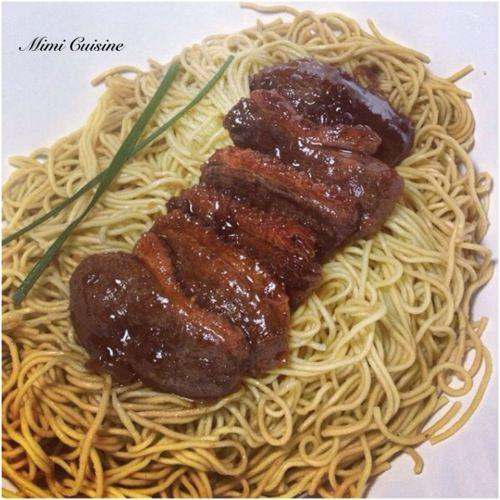 Tranches de magret de canard caramélisées au miel #Cookeo - Mimi Cuisine