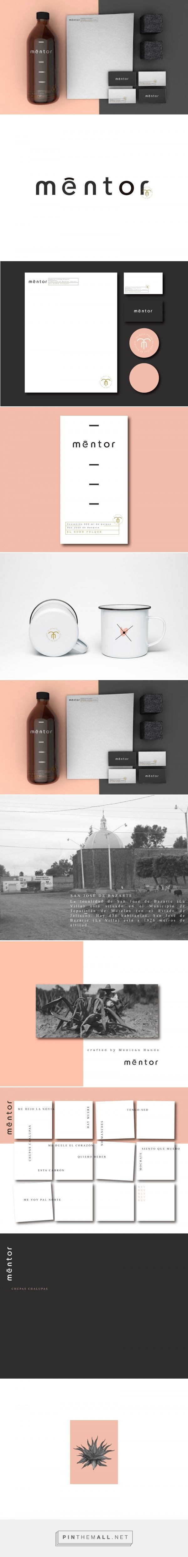 Mentor Branding by Hi Estudio | Fivestar Branding Agency – Design and Branding Agency & Curated Inspiration Gallery
