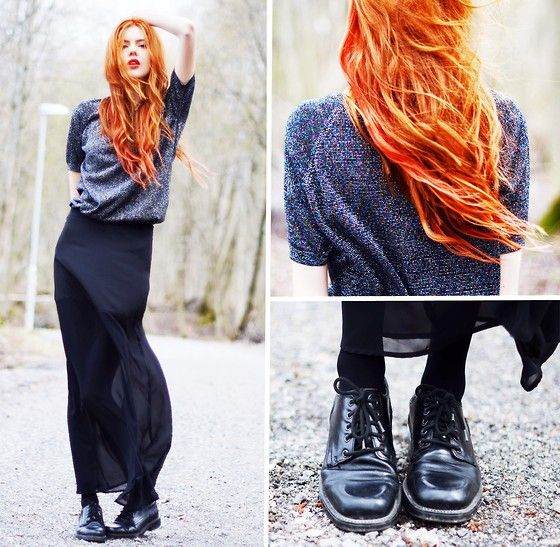 : Hair Hair, Red Hair, Color Hair, 2192471 Highlightedlookbookd, Redheads, Hair Color, Clockwork Orange, Maxi Skirts, Red Hot