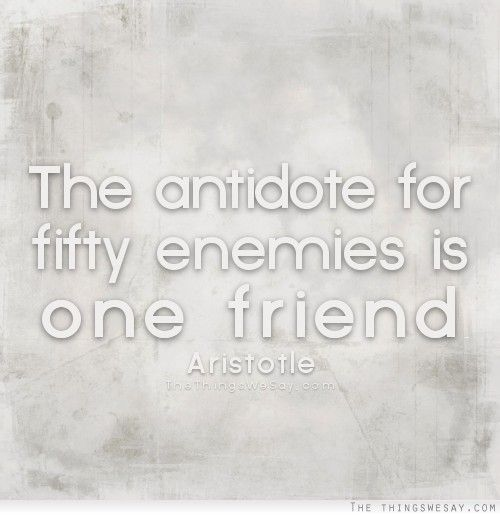Best Friend Enemy Quotes: 9 Best Images About Aristotle Quotes On Pinterest