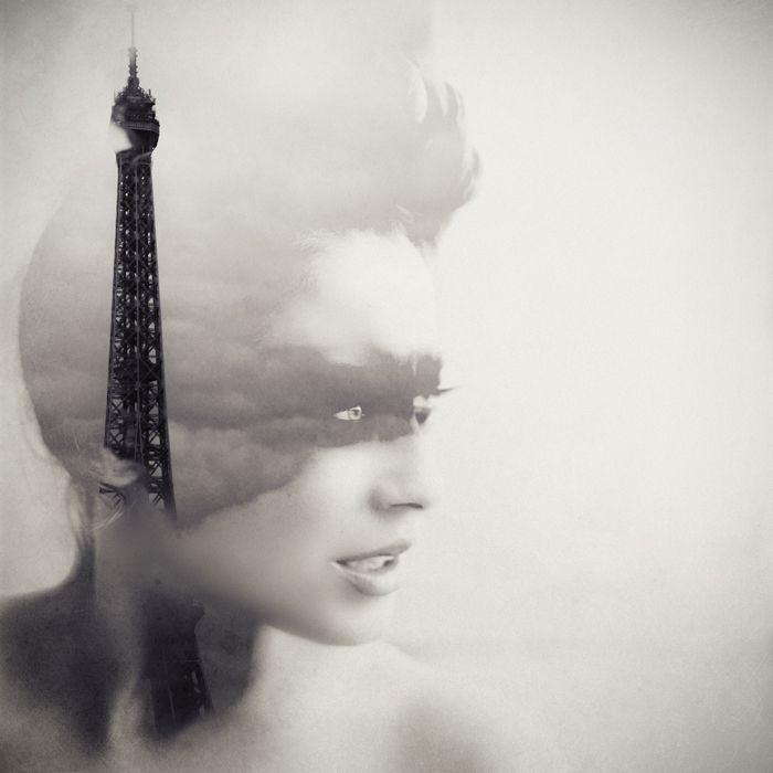 I love double exposure so much! I couldn't decide to put this in 'The Best of the Rest' or 'Favourite Places & Spaces'. Tough call.     Paris, what a beautiful city.