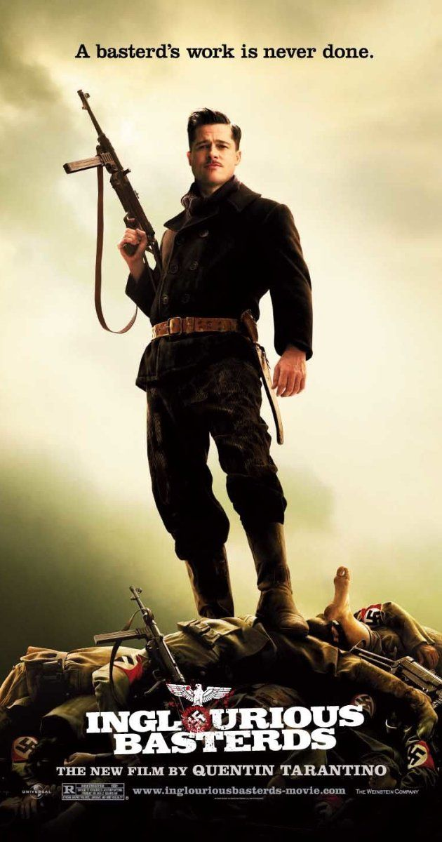 """""""Inglourious Basterds"""" - In Nazi-occupied France during World War II, a plan to assassinate Nazi leaders by a group of Jewish U.S. soldiers coincides with a theatre owner's vengeful plans for the same. (2009)"""