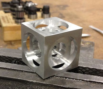 Turner S Cube A Beginner Cnc Milling Project Project