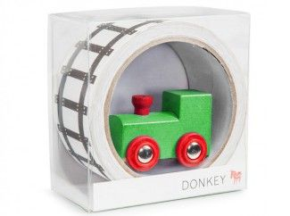 tape spoorbaan | Plak een spoorweg door de kamer, tjoekje tjoeke...!