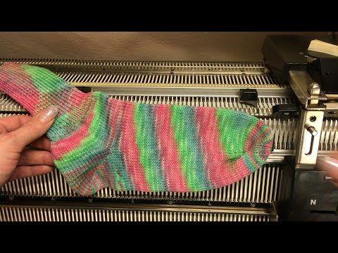 Setup DM80 Passap Knitting Machine - YouTube