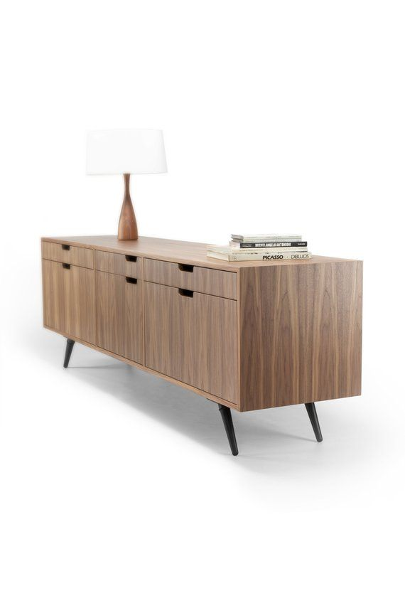 Filing Cabinet File Credenza Sideboard Cupboard In Solid