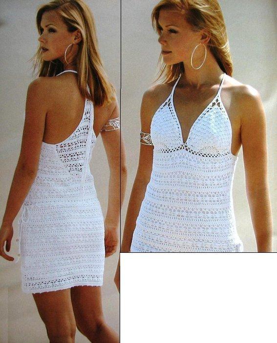 sukienka na szydełku.crochet dress   Kraina wzorów szydełkowych...Land crochet patterns..