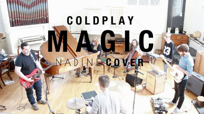 Covering Coldpays Magic at The Grand Chapel Studios: https://www.youtube.com/watch?v=7wX6DXPLAio