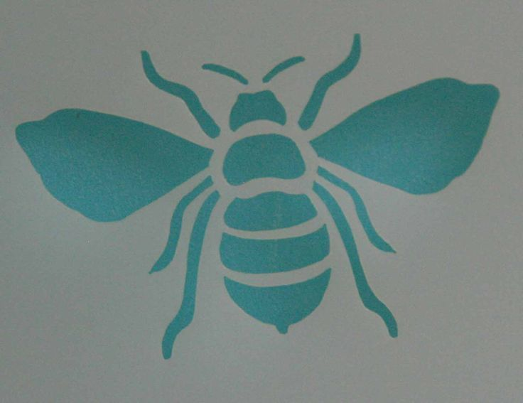 Bee stencil yes