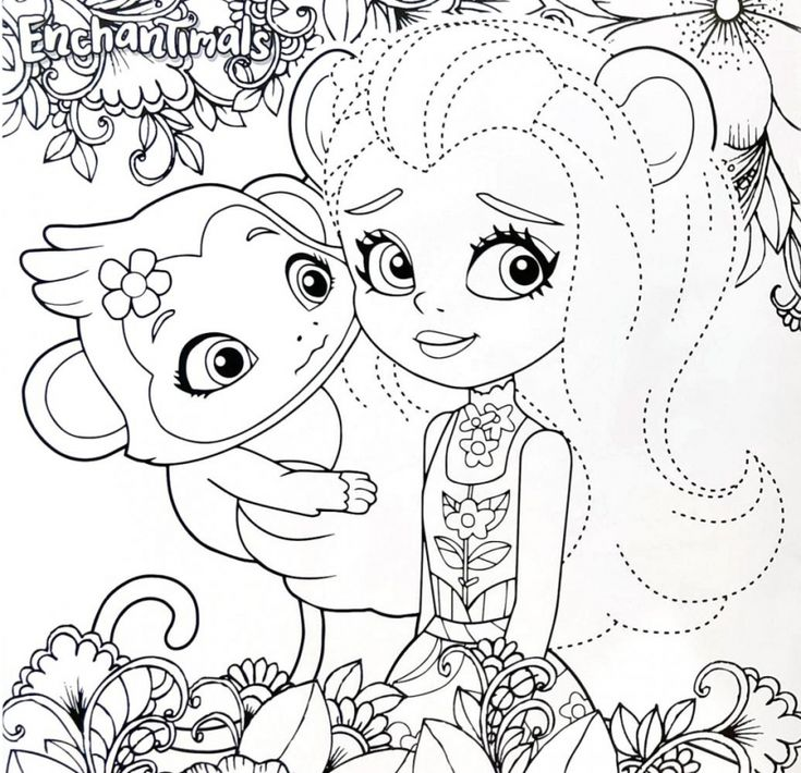 Enchantimals new coloring pages (With images)