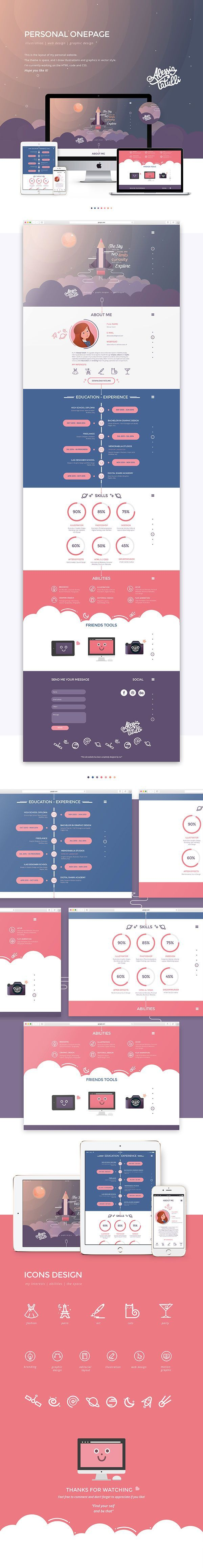 183 best creative design images on pinterest graph design this is the layout of my personal websitee theme is space and i fandeluxe Gallery