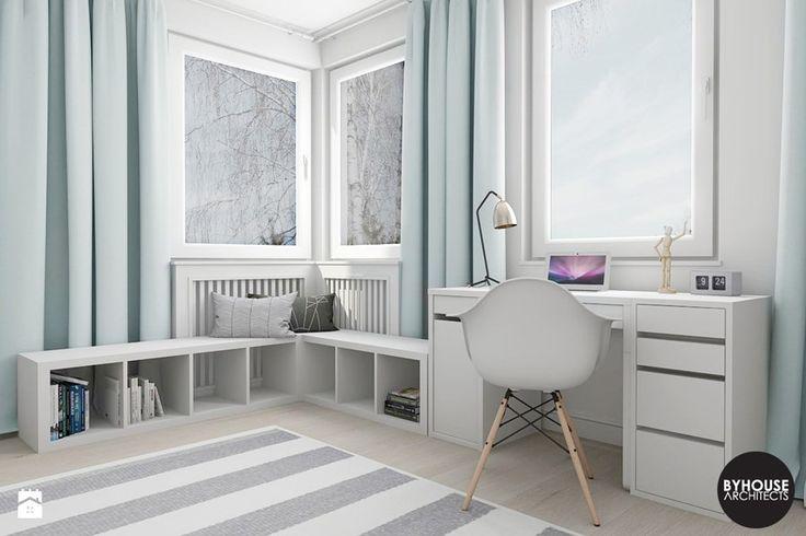 scandiHOUSE - Średni pokój dziecka dla dziewczynki dla nastolatka, styl skandynawski - zdjęcie od BYHOUSE ARCHITECTS