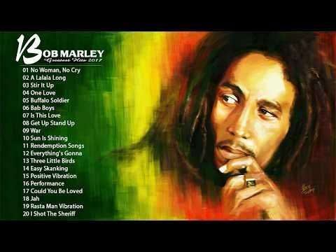 (5) Bob Marley Top Playlist Songs - Top Of Bob Marley - Bob Marley's Greatest Hits Collection  2017 - YouTube