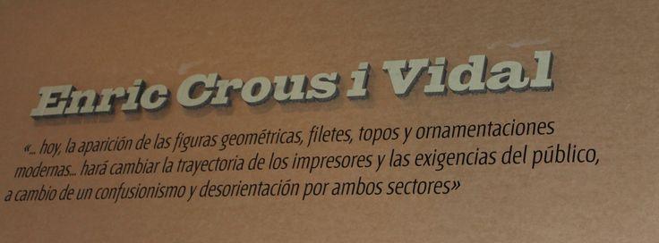 Grafistas / Diseño gráfico español 1939 - 1975 / Enric Crous i Vidal / Museo de Artes Decorativas