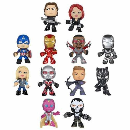 Captain America: Civil War Funko Mystery Minis Revealed!|| Hawkeye looks awesome!!!!