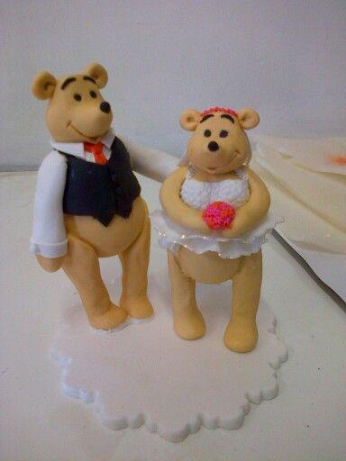Pooh bruidspaar