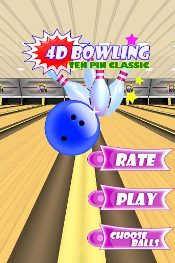 As featured on NewsWatch TV's Appwatch: Summer Tech Update. Just countdown 3, 2, 1, BOWL, its that EASY. Simply swing phone like a bowling ball, its that GREAT. 4D Bowling Ten Pin Classic, its FUN, FUN, FUN, The ball will follow the speed and direction of your swing, its UNBELIEVABLE. DOWNLOAD the 4D Bowling Ten Pin Classic app and try it to believe it.  http://Mobogenie.com