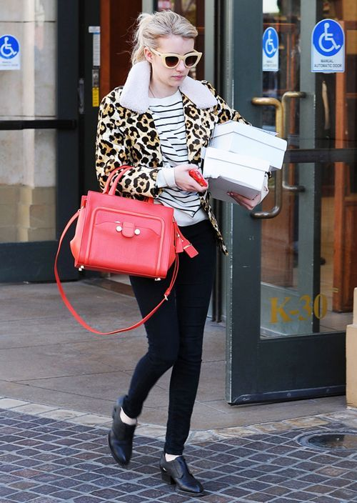 Emma Roberts' Mall Outfit Makes Us Want To Go Shopping