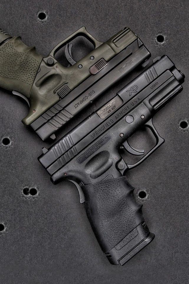 Springfield XD pistols - my first gun and still my HD weapon.