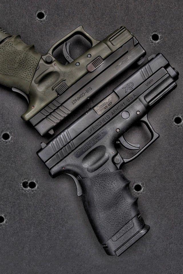 Springfield XD pistols - my first gun and still my HD weapon.