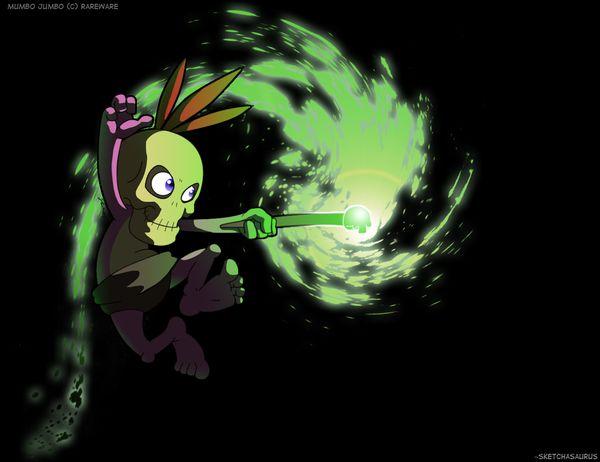 B-K: Mumbo Jumbo Desktop BG by Sketchasaurus.deviantart.com on @deviantART