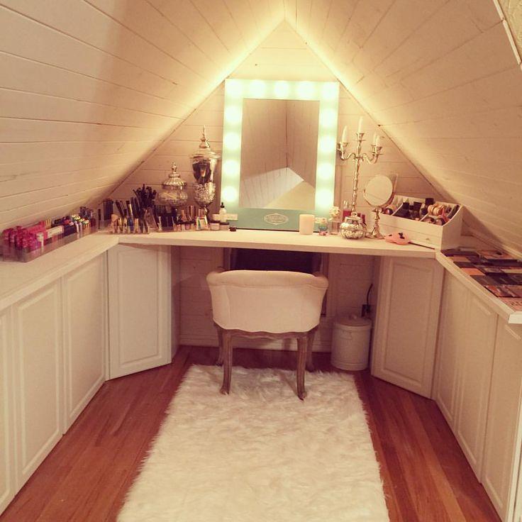 Small Vanity In Closet