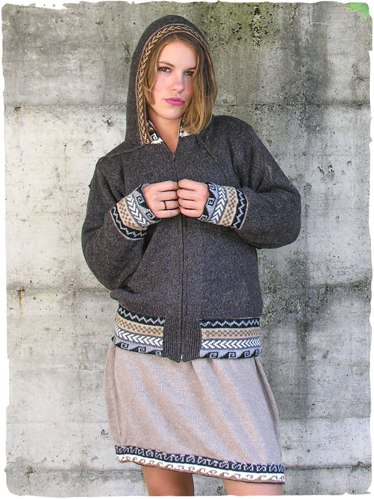 Giacca double-face in lana d'alpaca #modaetnica #ethnicalfashion #alpacaswhool #lanadialpaca #peruvianfashion #peru #lamamita #moda #fashion #italianfashion #style #italianstyle #modaitaliana #lamamitafashion