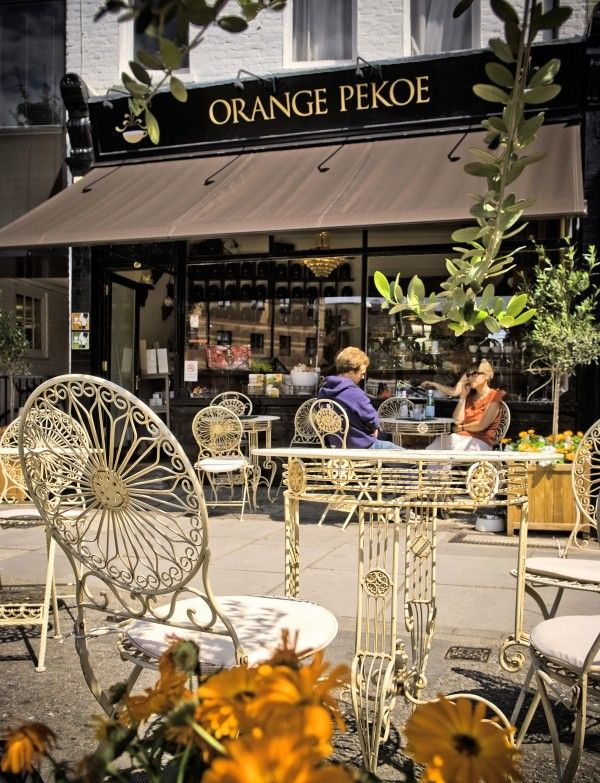 Orange Pekoe Tea Room, 3 White Hart Lane, Barnes, London