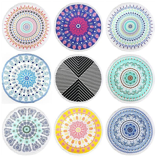 Everyone loved our round towels the other day, so I wanted to show you the beautiful range we have. Search 'round beach towel' on dtll.com.au or click on the shopable link in our profile to buy #dtll #downthatlittlelane