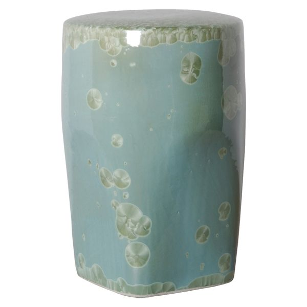 Outdoor Garden Ceramic Tapered Garden Stool Our Outdoor Garden Ceramic  Tapered Garden Stool Is Hand Made Of Ceramic With Hand Painted Glazed  Finish And ...