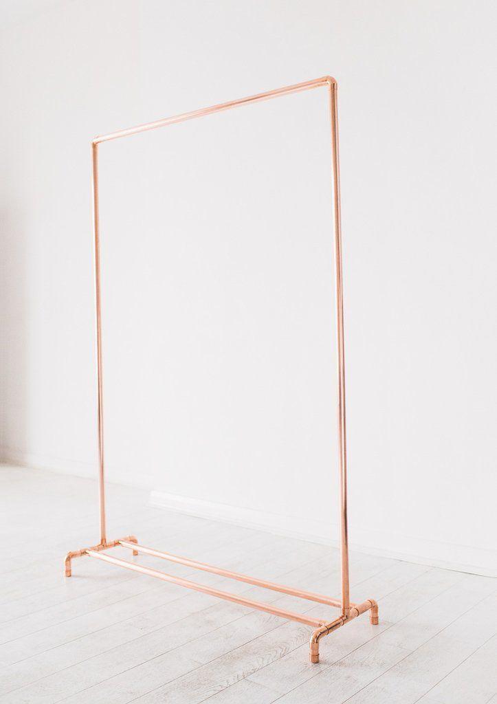 Pin On Szr, Rose Gold Garment Rack