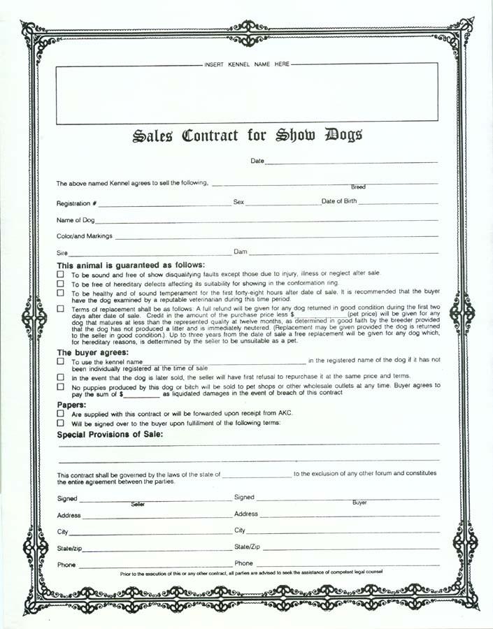 Free Interior Design Contract Forms