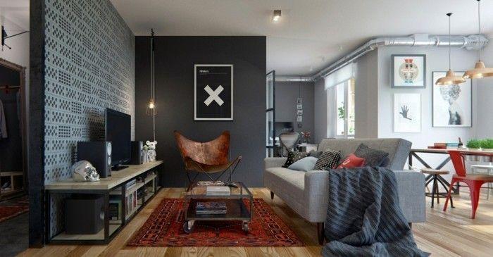 Wohnzimmer einrichtungsideen ~ Wohnzimmer gestalten grautöne farbideen wohnzimmer wohnzimmer