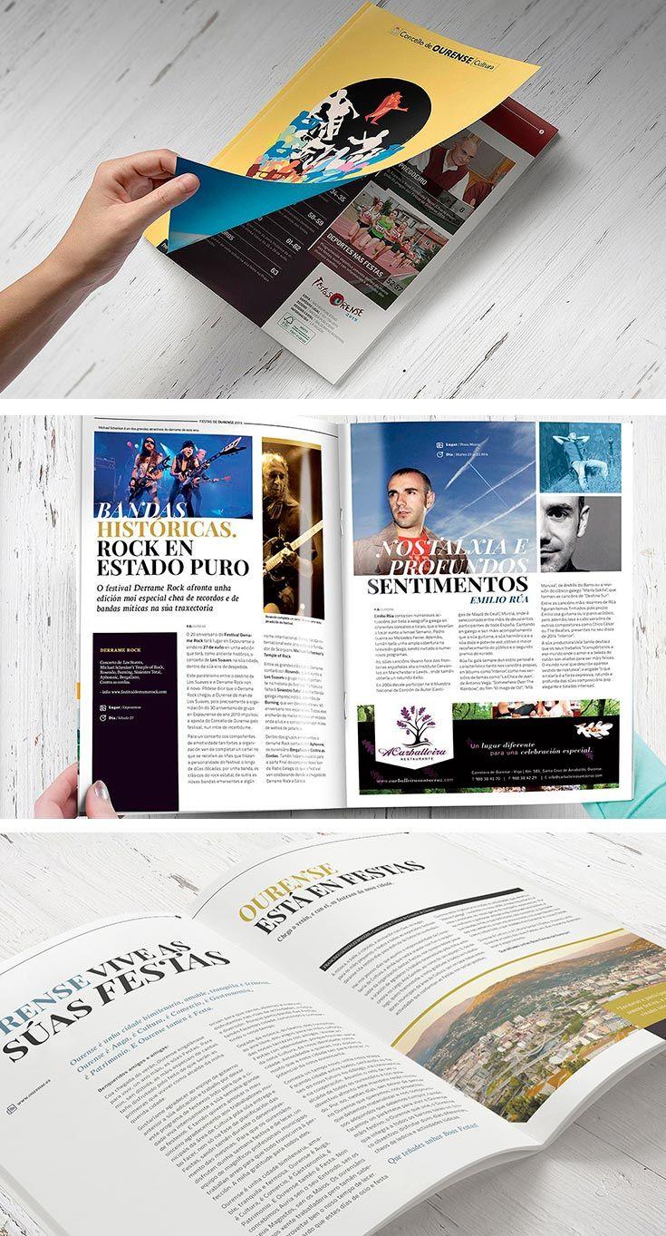 Revista de actividades para las fiestas de Ourense 2015. Incluye el Programa Oficial del Concello y descripción de los eventos más relevantes.