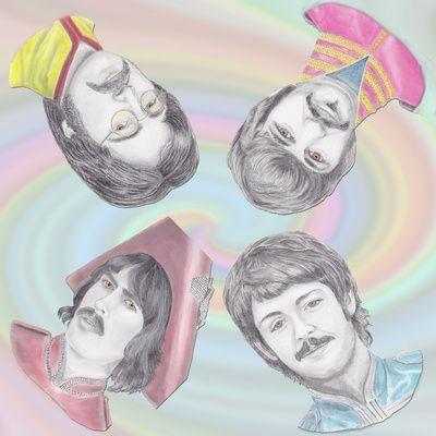 Beatles Sargent Peppers Pillow Art Print | Teen | Pinterest | Beatles ...