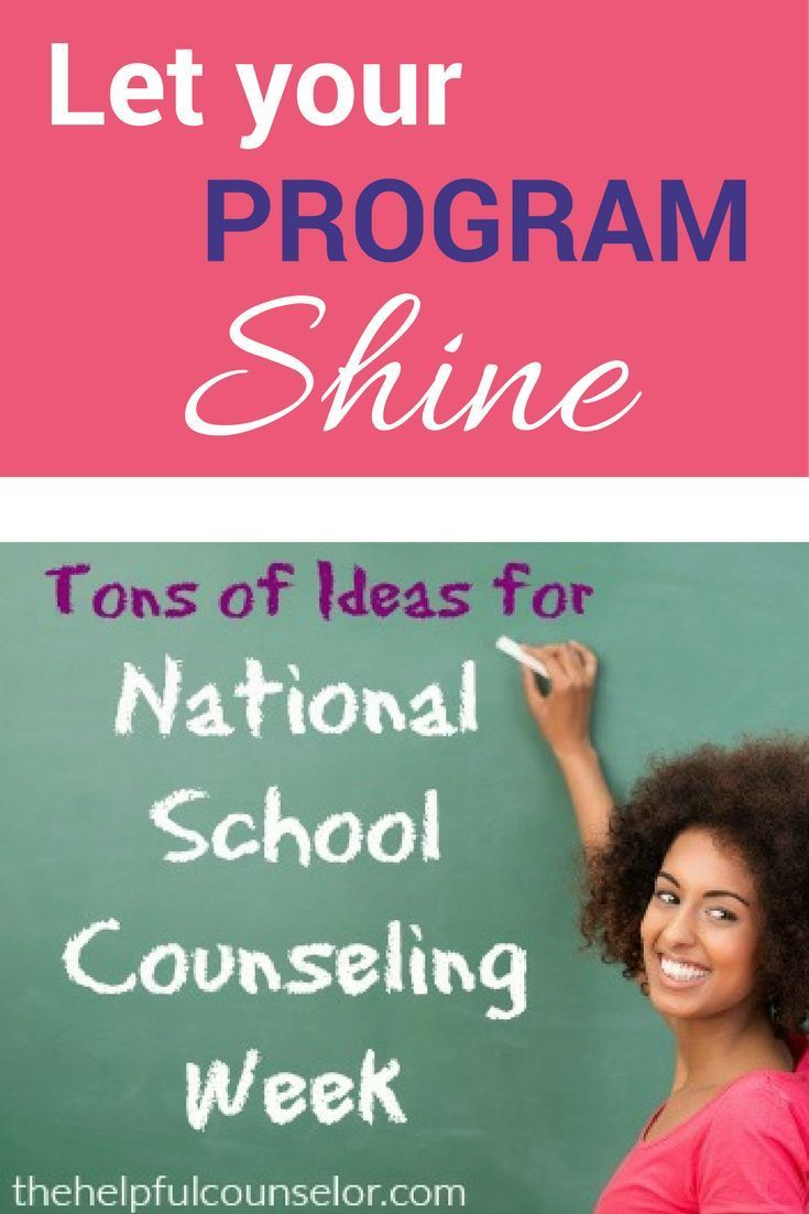 School Counseling Week is the perfect time to share all the wonderful things you are doing!